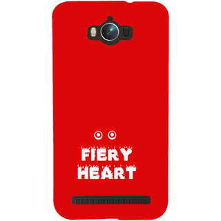 ifasho Fiery Heart modern quotes Back Case Cover for Asus Zenfone Max