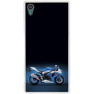 ifasho Bikoholic Sport Bike Back Case Cover for Sony Xperia Z5