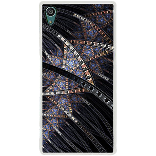 ifasho modern design in multi color pattern Back Case Cover for Sony Xperia Z5