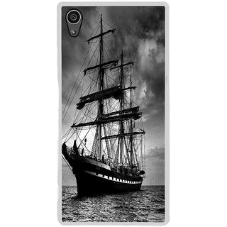 ifasho Ship in See Back Case Cover for Sony Xperia Z5