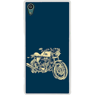 ifasho Fierry Bike Back Case Cover for Sony Xperia Z5
