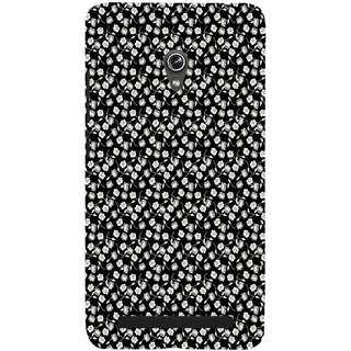 ifasho Modern Art Design animated cloth Pattern of small flower Back Case Cover for Asus Zenfone 6