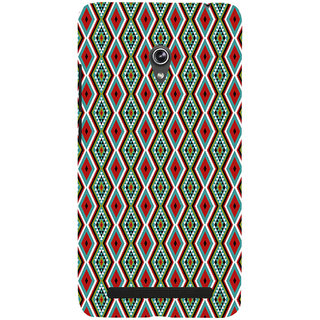 ifasho Animated Pattern colrful 3Daditional design Back Case Cover for Asus Zenfone 6