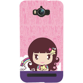 ifasho Cute Baby Back Case Cover for Asus Zenfone Max