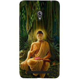 ifasho Lord Budha Back Case Cover for Asus Zenfone 6