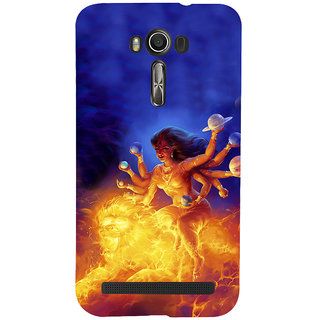 ifasho Godess Durga Back Case Cover for Asus Zenfone 2 Laser ZE601KL