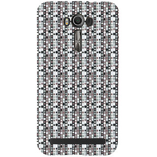 ifasho Animation Clourful Circle Pattern Back Case Cover for Asus Zenfone 2 Laser ZE601KL