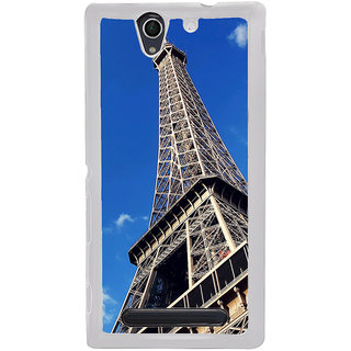 ifasho Effile Tower Back Case Cover for Sony Xperia C4