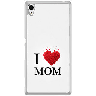 ifasho Love Quotes I love mom Back Case Cover for Sony Xperia Z3 Plus