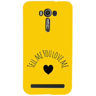 ifasho Love  Quotes  Back Case Cover for Asus Zenfone 2 Laser ZE601KL