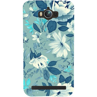 ifasho Modern Art Design animated cloth Pattern of flower Back Case Cover for Asus Zenfone Max