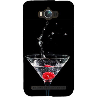 ifasho Rose in water glass with Drop of water Back Case Cover for Asus Zenfone Max