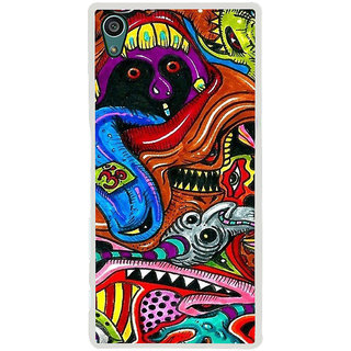 ifasho Modern Art Om design pattern Back Case Cover for Sony Xperia Z5
