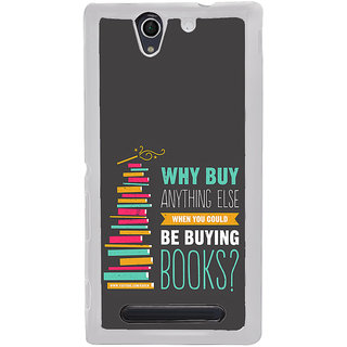 ifasho Good messge on Books Back Case Cover for Sony Xperia C4