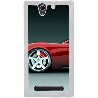 ifasho Stylish long Car Back Case Cover for Sony Xperia C4