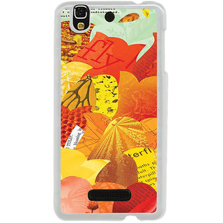 ifasho Animated Pattern colrful paper cuttings Back Case Cover for Yureka