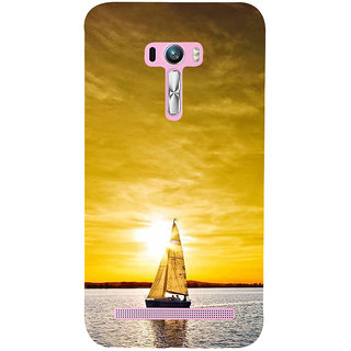 ifasho Boating at sunset Back Case Cover for Asus Zenfone Selfie