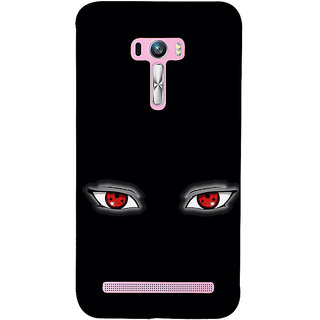 ifasho Cartoon Eyes Back Case Cover for Asus Zenfone Selfie
