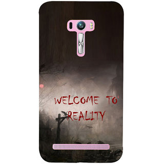 ifasho Graveyard horror Back Case Cover for Asus Zenfone Selfie