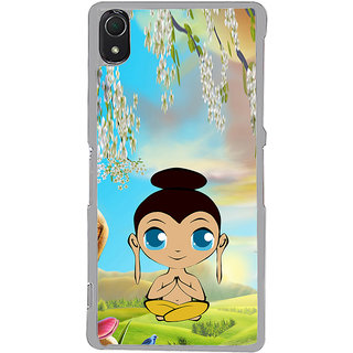 ifasho Lord Budha animated Back Case Cover for Sony Xperia Z3