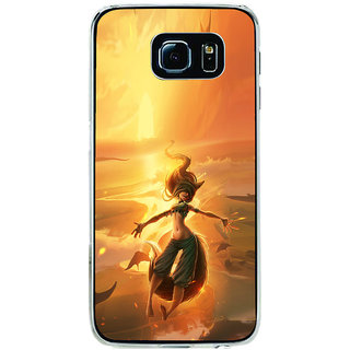 ifasho Girl in water animated Back Case Cover for Samsung Galaxy S6