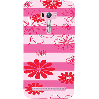 ifasho Modern Art Design animated cloth Pattern of flower Back Case Cover for Asus Zenfone Selfie