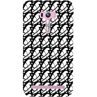 ifasho Animated Pattern of oval design Back Case Cover for Asus Zenfone Selfie