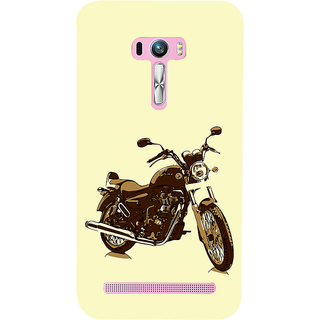 ifasho Royal Bike Back Case Cover for Asus Zenfone Selfie