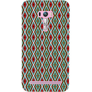 ifasho Animated Pattern colrful 3Daditional design Back Case Cover for Asus Zenfone Selfie