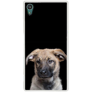 ifasho Grey Dog Back Case Cover for Sony Xperia Z5