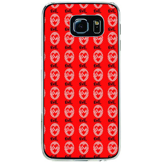 ifasho Animated Pattern With Love and heart Back Case Cover for Samsung Galaxy S6