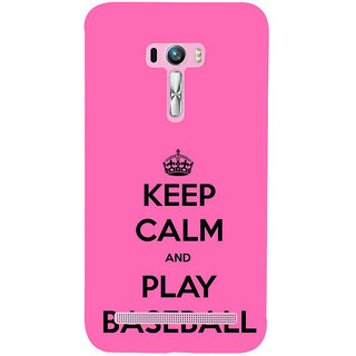 ifasho Nice Quote On Keep Calm Back Case Cover for Asus Zenfone Selfie