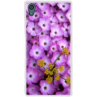 ifasho Pattern colorful flower Back Case Cover for Sony Xperia Z5
