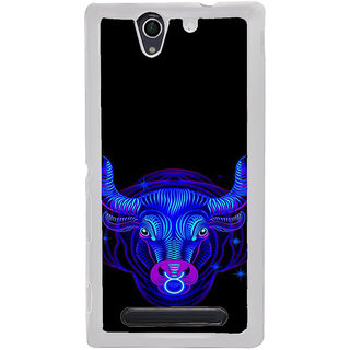 ifasho zodiac sign Taurus Back Case Cover for Sony Xperia C4