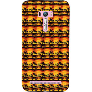 ifasho Modern Design animated Pattern small 3Dees in lines Back Case Cover for Asus Zenfone Selfie