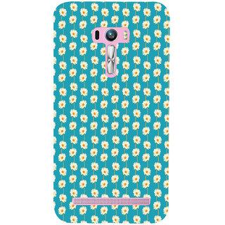 ifasho Pattern white flower design Back Case Cover for Asus Zenfone Selfie