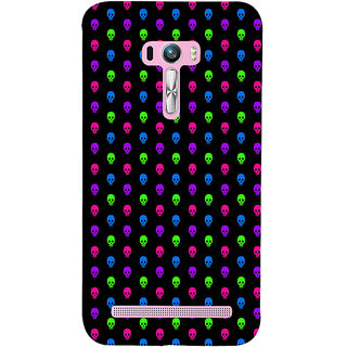 ifasho Modern  Design colourful skeleton Pattern Back Case Cover for Asus Zenfone Selfie