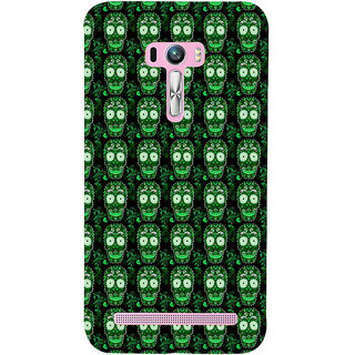 ifasho Modern  Design animated skeleton Pattern Back Case Cover for Asus Zenfone Selfie