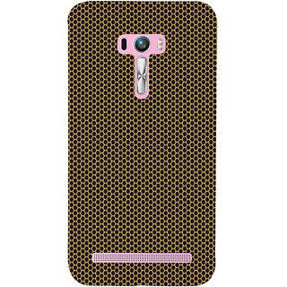 ifasho Modern Art Design Pattern honey Bee case style Back Case Cover for Asus Zenfone Selfie
