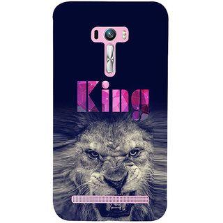 ifasho Angry Lion King Back Case Cover for Asus Zenfone Selfie