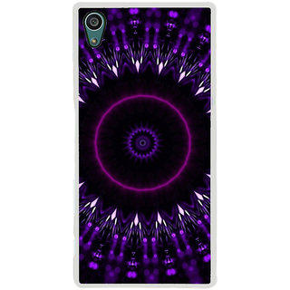 ifasho Animated Pattern design colorful flower in royal style Back Case Cover for Sony Xperia Z5