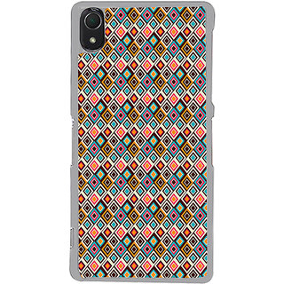 ifasho Animated Pattern colrful rajasthani design Back Case Cover for Sony Xperia Z3