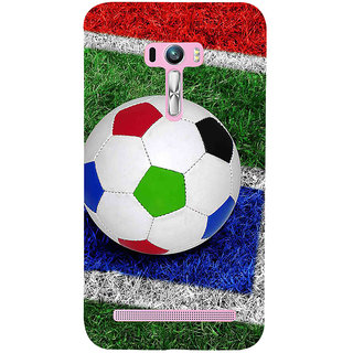 ifasho Foot ball Back Case Cover for Asus Zenfone Selfie