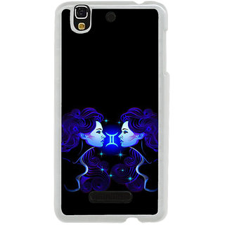 ifasho zodiac sign gemini Back Case Cover for Yureka