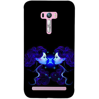 ifasho zodiac sign gemini Back Case Cover for Asus Zenfone Selfie
