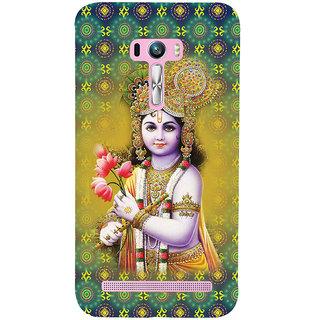 ifasho Lord Krishna in bal avtar Back Case Cover for Asus Zenfone Selfie