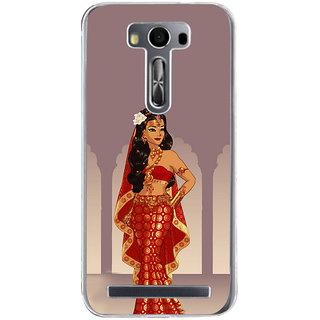 ifasho Draupadi Mahabharat Back Case Cover for Zenfone 2 Laser ZE500KL