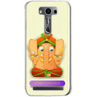 ifasho Modern Art Ganesh Back Case Cover for Zenfone 2 Laser ZE500KL