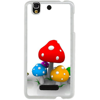 ifasho Mushrooms cartoon Back Case Cover for Yureka