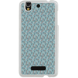 ifasho Modern Art Design Pattern with Lot Of small anchor Back Case Cover for Yureka